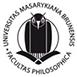 logo Filozofické fakulty MU